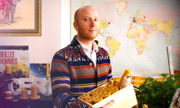 66. Charles van Valkenburg (Apis Cera) | 300 euros, de la cire et des abeilles